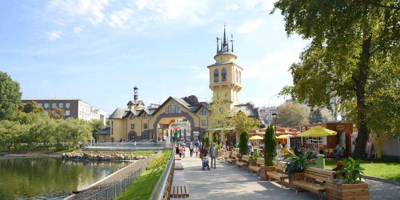 Благоустройство территорий Московского зоопарка